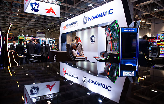 Novomatic breaks 1H profit record, Ainsworth helps