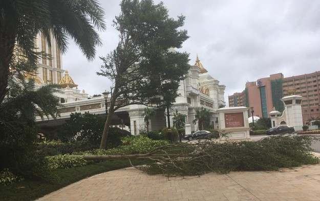 All major casinos in Macau back to biz after typhoon hits city