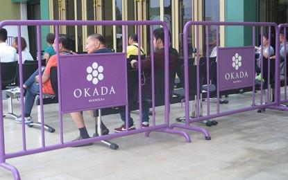 Okada Manila2Q GGRhalved sequentially amidrestrictions
