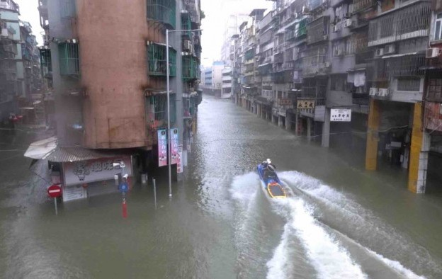 Macau casinos allowed to reopen after Typhoon Mangkhut