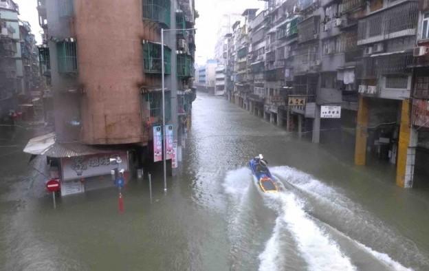 Macau ups Mangkhut loss estimate by 12pct to US$215mln