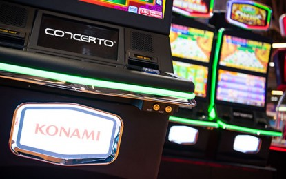 Konami annual profitup62pcton slightrevenueincrease