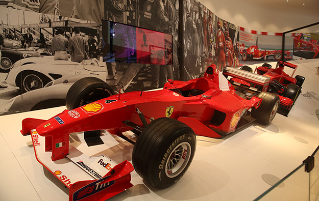 Melco rides car theme, opens Ferrari exhibit at CoD Macau
