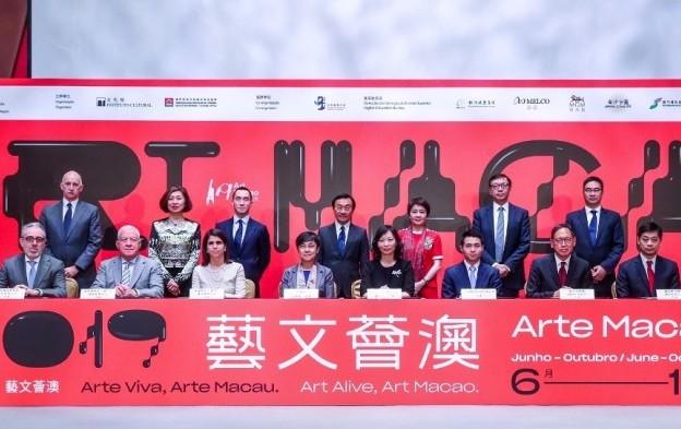 Macau ops pledge US$2mln to local govt art initiative