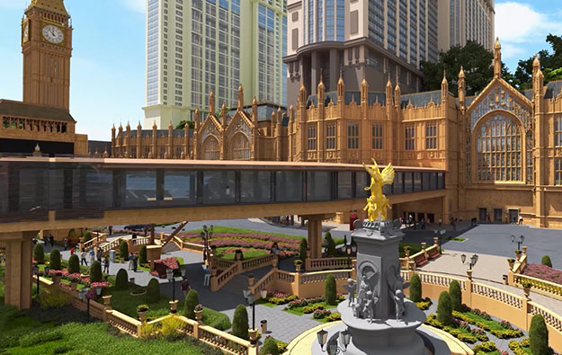 Londoner Macao to have arena, maybe more gaming tables