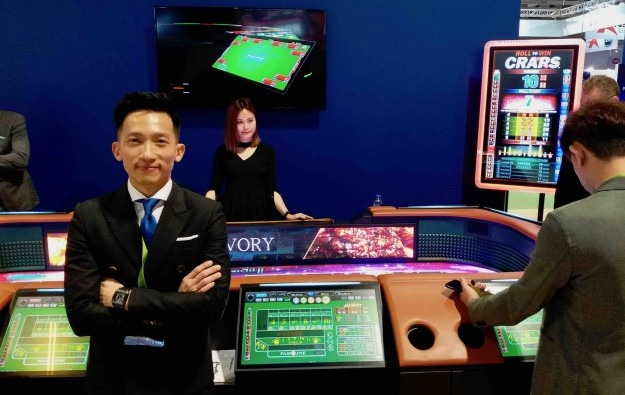 New Aruze craps game could be sleeper hit in Asia