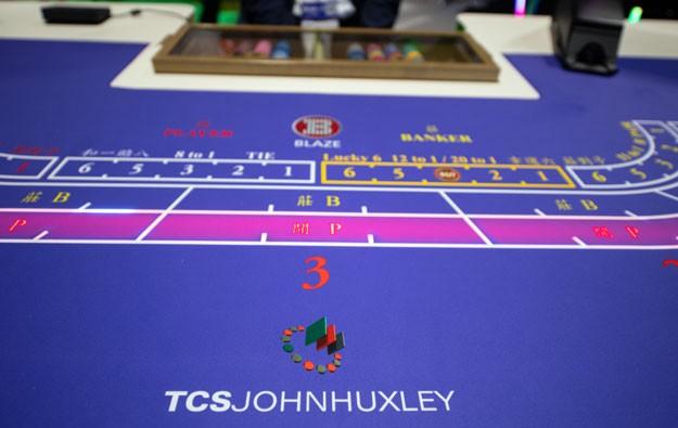 TCS John Huxley expands Blaze range with baccarat