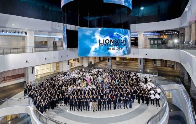 Lionsgate theme park opens next door to Macau