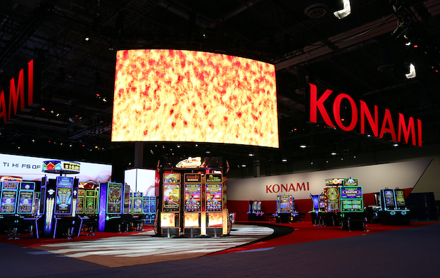 Konami gaming segment back to profit in quarter to June 30
