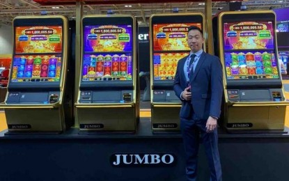 Jumbo shows Power Lion slot game at the 2019 MGS