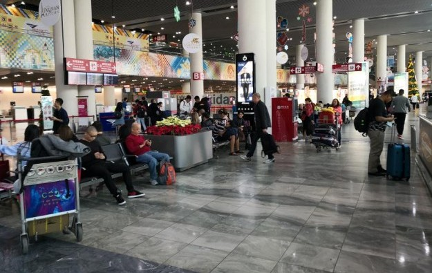 Record passenger numbers at Macau airport as of Nov