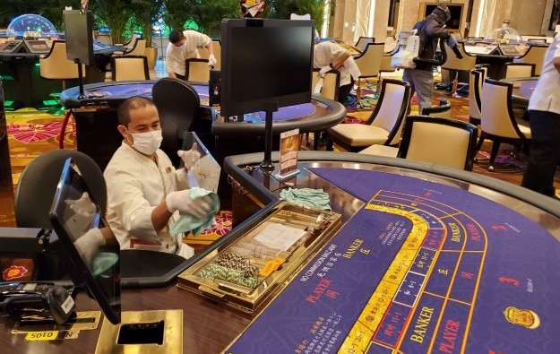 Macau ops to offer fewer than 30pct of tables at restart