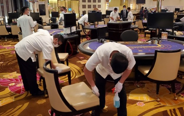 Macau labour groups fear virus risk from casino reopenings