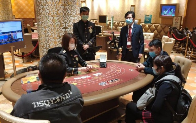 Nearly half of Macau gaming tables back in operation: DICJ