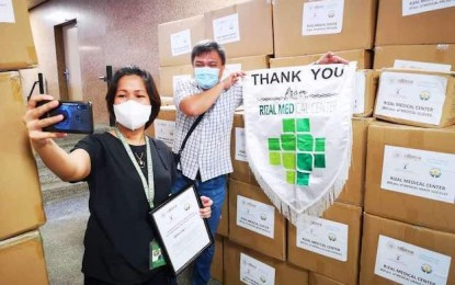 Suncity US$1mln in protective gear for Luzon hospitals