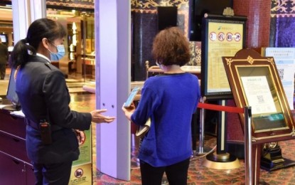 Covid-19 test cert no longer needed for Macau casino entry