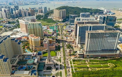 Many luxury hotels at Macau casinos full during May break