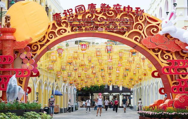Fewer than 140k visitors first 7 days of Macau Golden Week