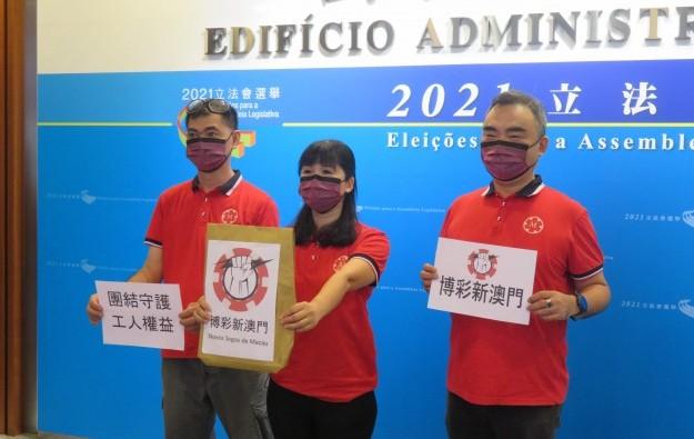 Macau casino activist Cloee Chao runs for legislator seat