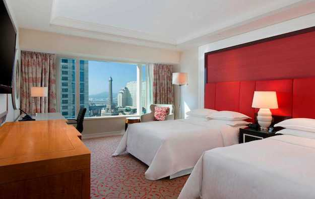 Sheraton rooms at Londoner Macao end quarantine role