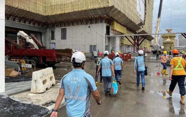 Work at height paused at a Galaxy Macau site after fatality