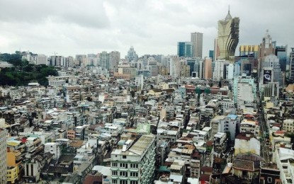 Macau Sept visitor arrivals at 629k, up 54pct sequentially