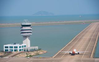 Macau airport April daily flights likely single digits