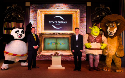 Melco Crown, DreamWorks strike Philippines deal