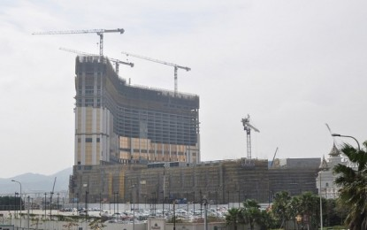 CNY opening for Galaxy Macau Phase 2?