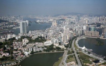 Macau govt gaming tax income down 24 pct as of Feb