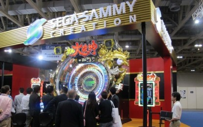 Sega Sammy bets on electronic gaming machines