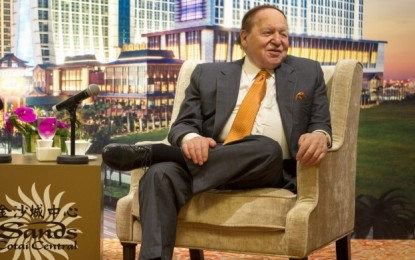 'I predicted our success': Sheldon Adelson