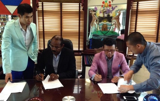 Chinese investors sign up for Antigua casino resort