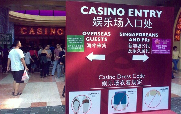 Social problems gambling singapore