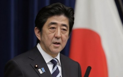 Abe opens Japan parliament with casino tourism pledge