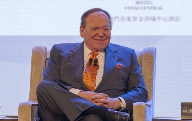 Dismissal of defamation claim against Adelson reversed