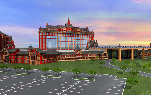 Ggrasia genting proposes two casinos in upstate new york for Design hotel upstate new york