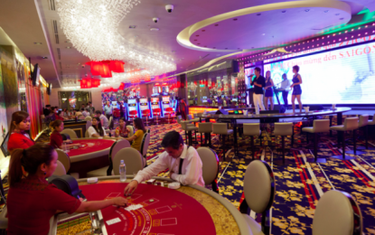 VIP gross revenue doubles at NagaWorld in 1Q