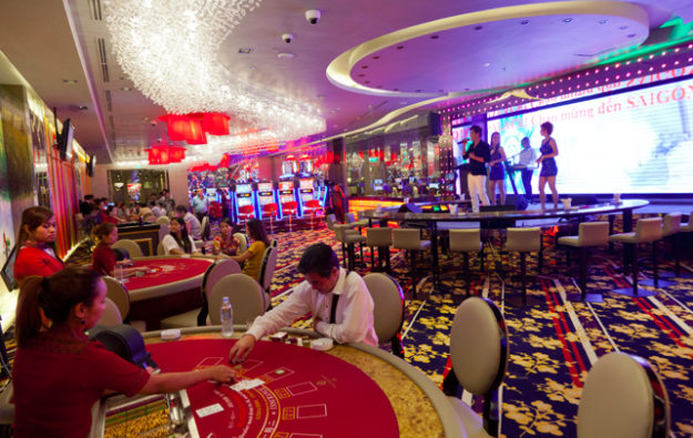 NagaCorp posts 35-pct casino revenue jump in 1Q 2016