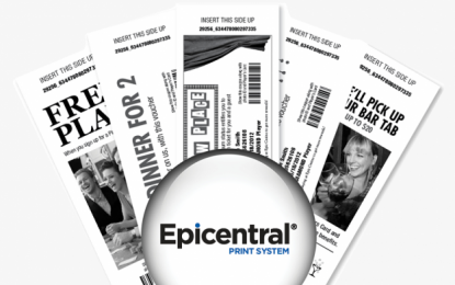 TransAct's Epicentral SE live in commercial casino