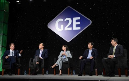 Virtual G2E Las Vegas taking place from Oct 27 to 28