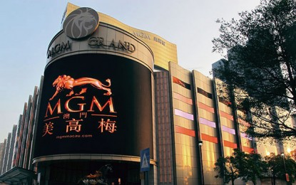 MGM China casino workers stage protest over wages