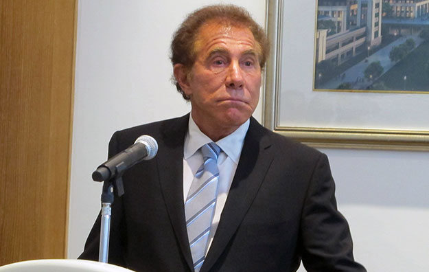 Steve Wynn 'confused' by October downturn in Macau