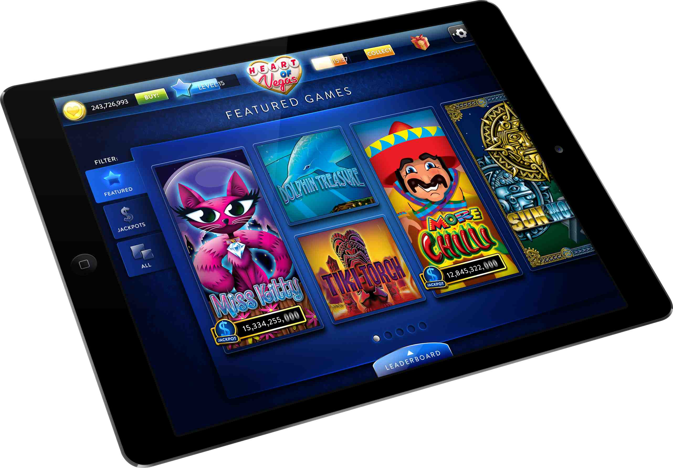 Aristocrat launches 'Heart of Vegas' iPad app