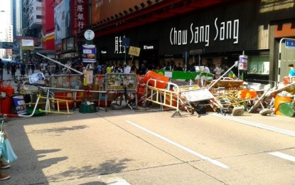 HK protest sites could soon be cleared: media outlets