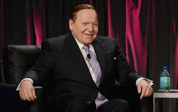 Adelson fivefold base salary rise from Las Vegas Sands