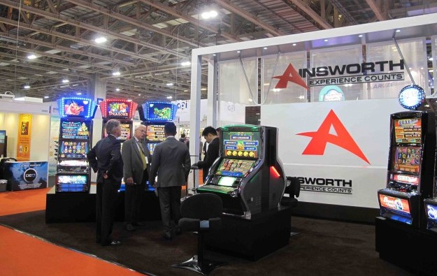 Ainsworth fiscal 2015 profit likely flat: slot maker