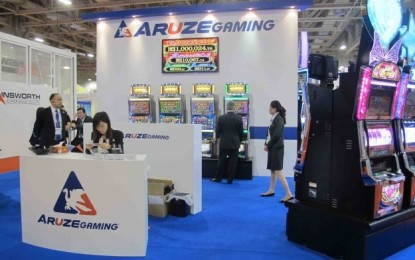 Aruze Gaming America 6-year support pledge on APX range