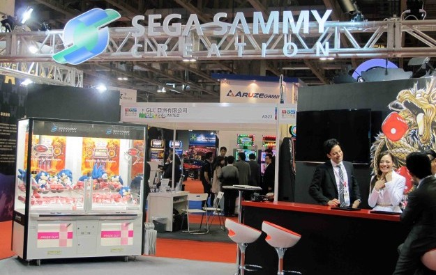 Sega Sammy wants majority in any Japan IR: chairman