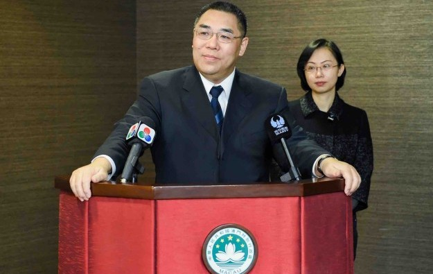 Gaming's weight in Macau economy to drop: Chui Sai On